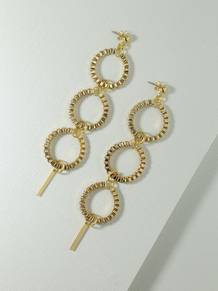 Earrings The Como Earrings Gold Vanessa Mooney