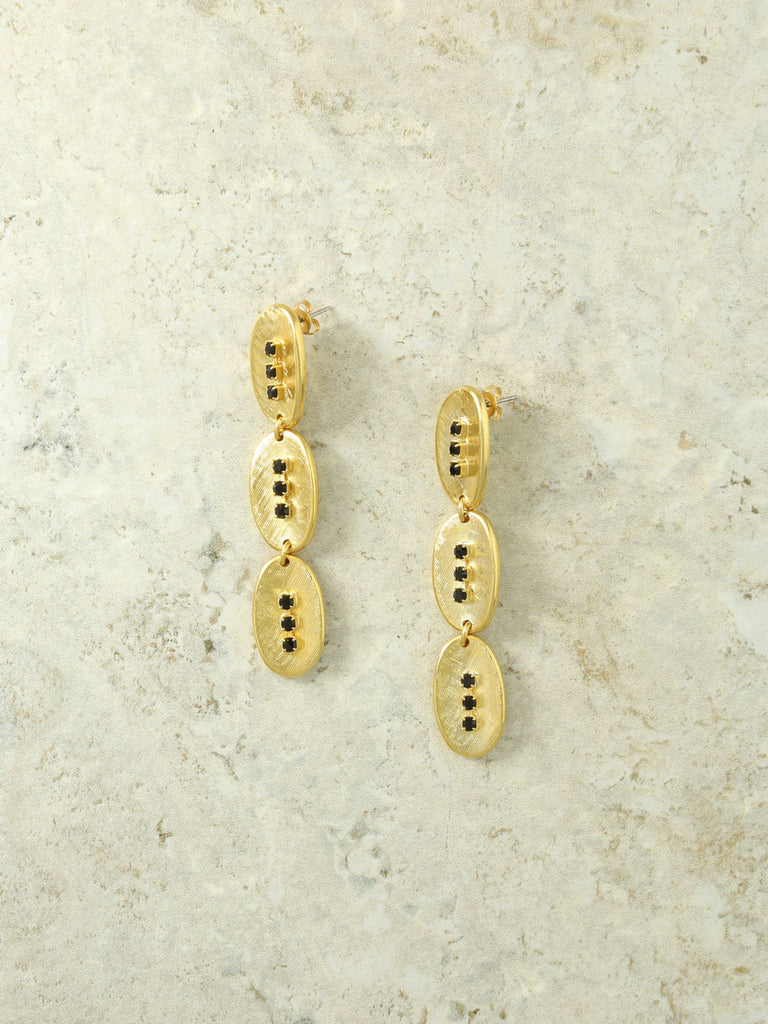 The Gold Dominique Earrings