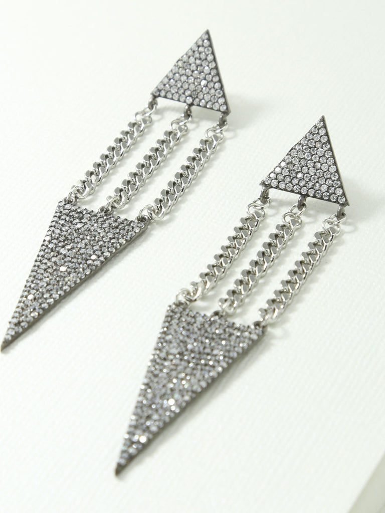 The Lucca Earrings Silver