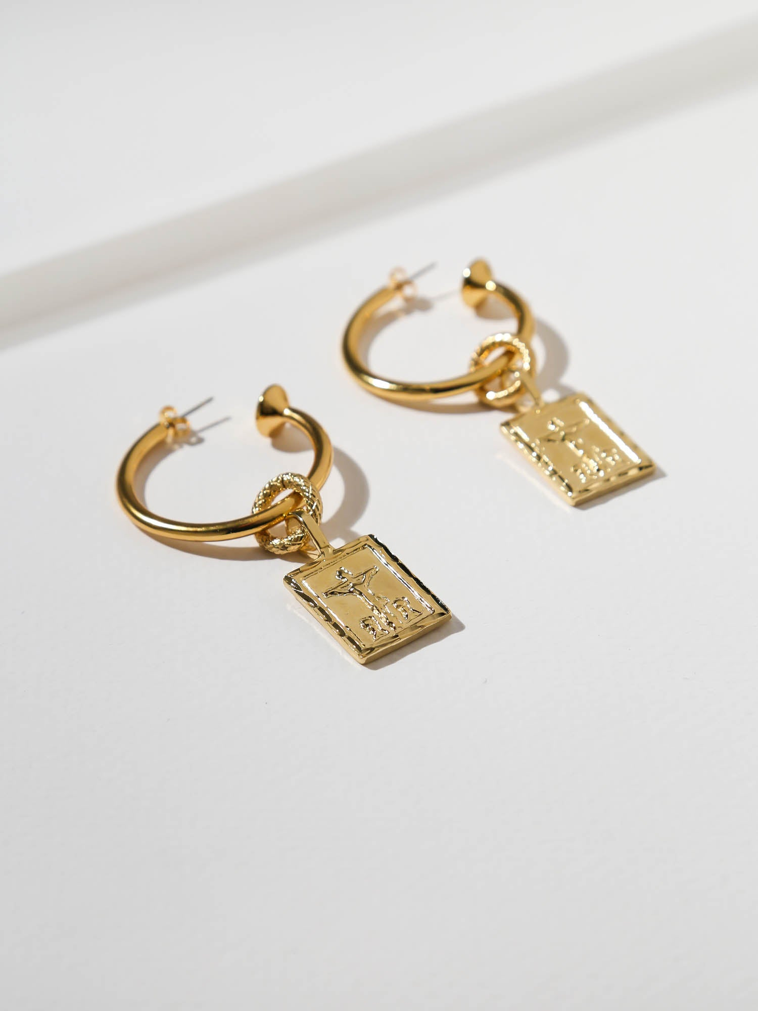 Earrings The Giovanni Hoop Earrings Vanessa Mooney