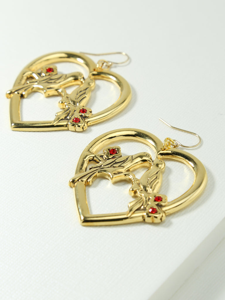 Earrings The Lovebird Earrings Vanessa Mooney