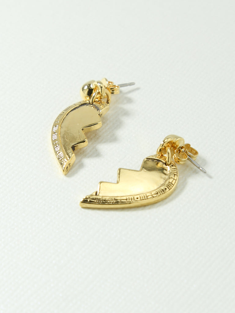 The Broken Heart Friendship Earrings
