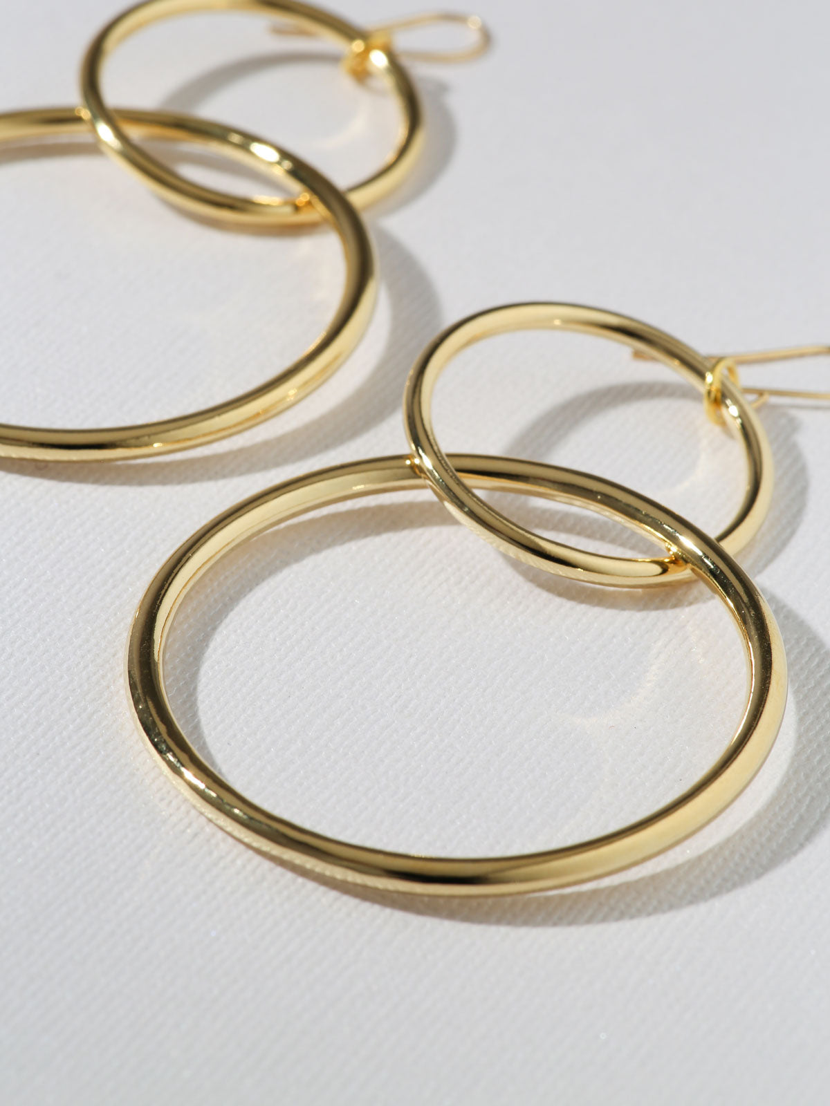 Earrings The Interlocking Hoop Earrings Vanessa Mooney