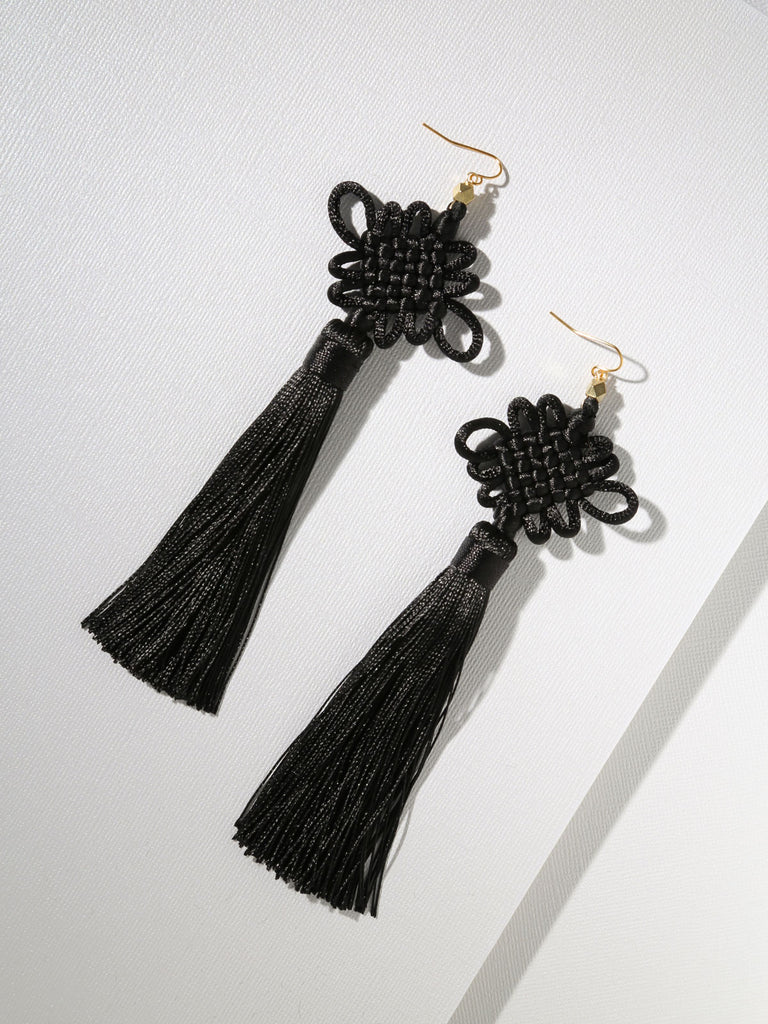 The Chinese Good Luck Tassels