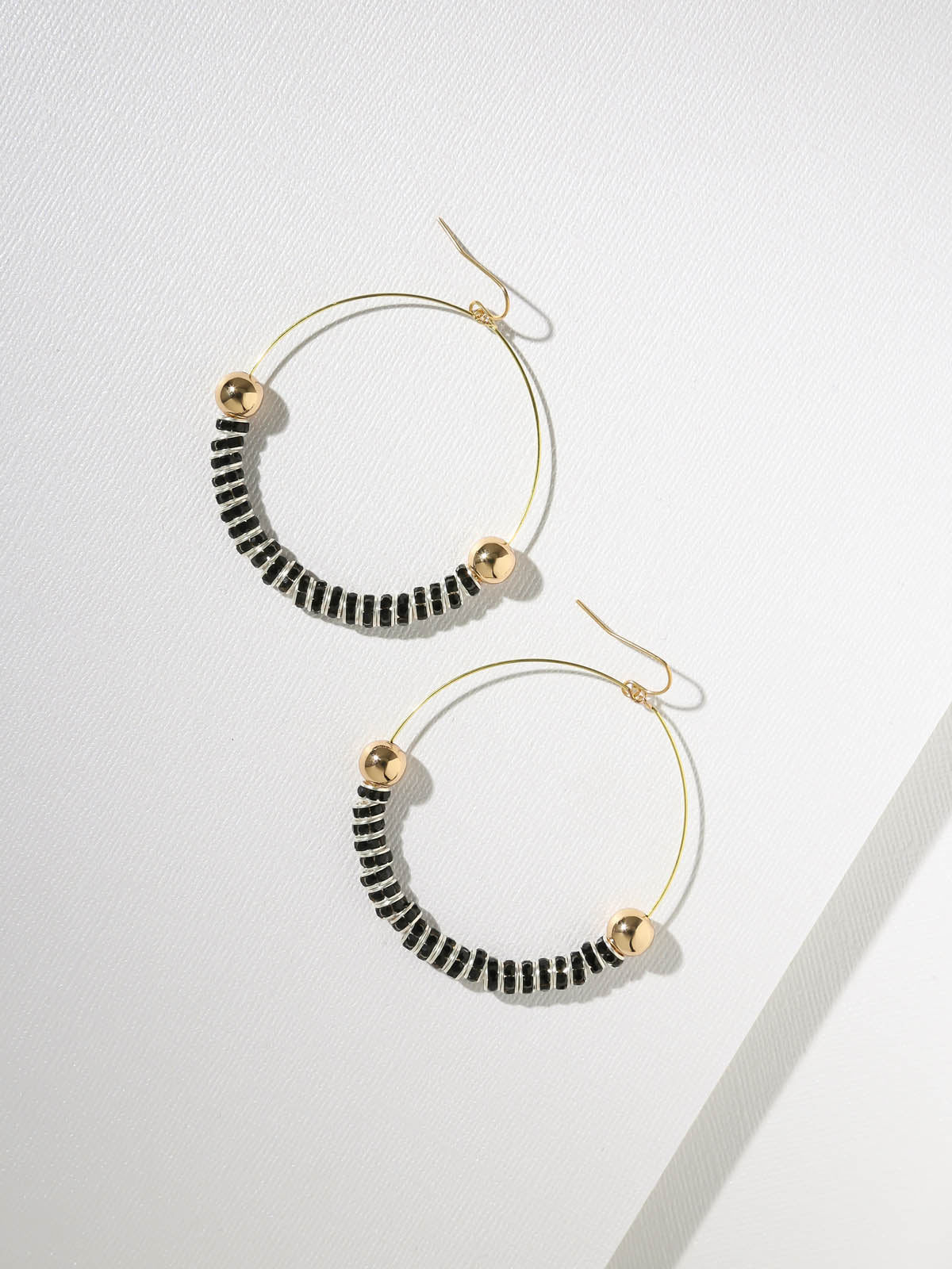 Maddie Black Hoops