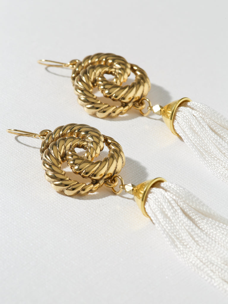 The Valleta Tassel Earrings