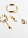 Earrings The Maisie Hoops Set Vanessa Mooney