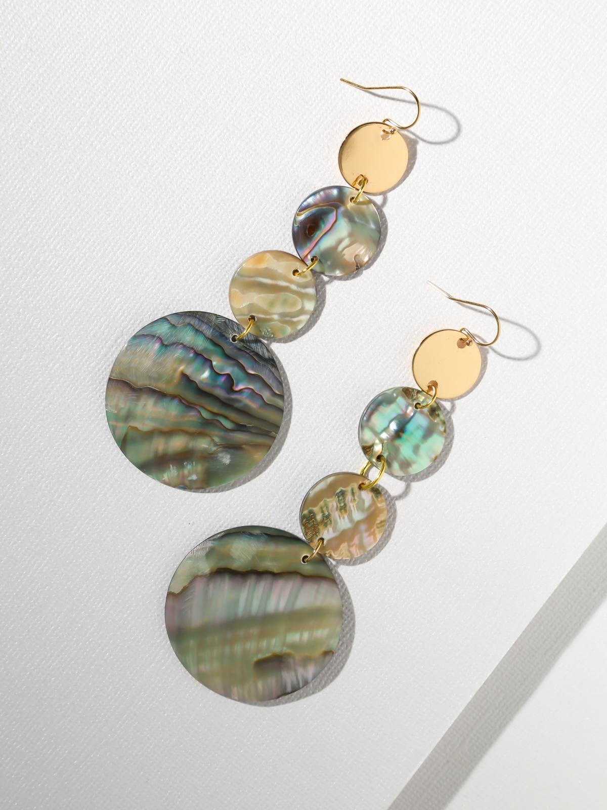 The Mother of Pearl Earrings
