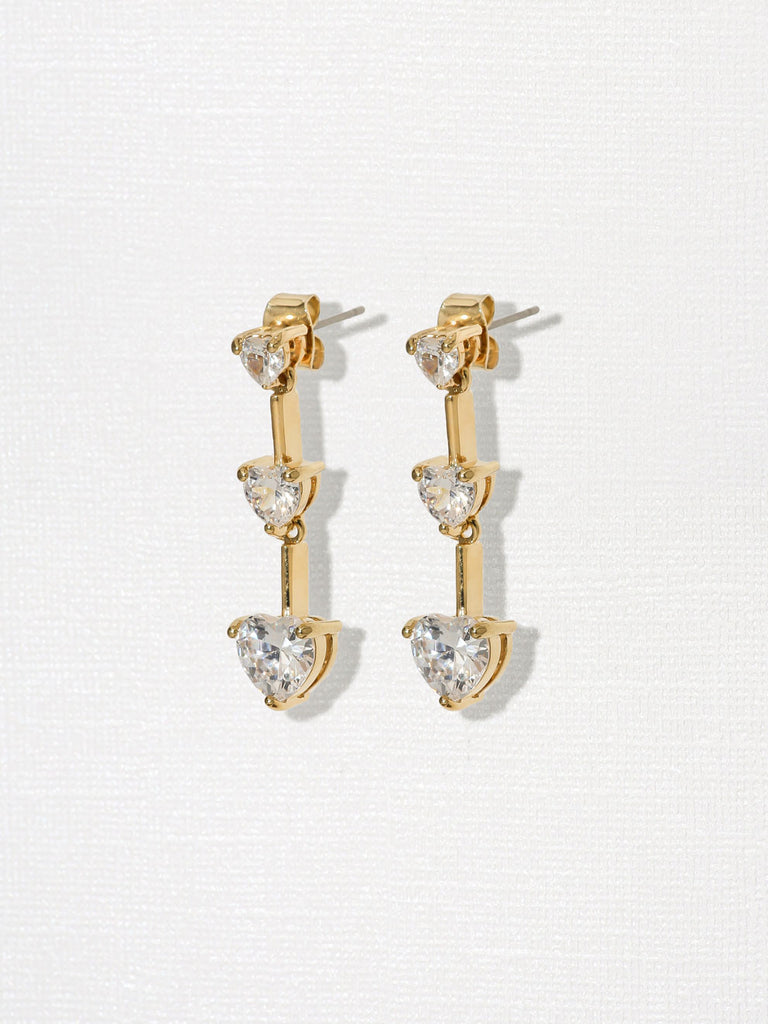 The Lanna Heart Earrings