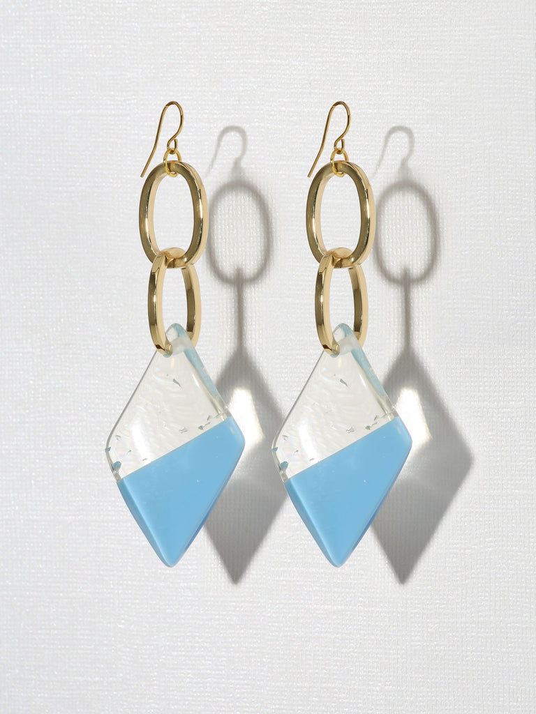 Earrings Gloria Earrings Blue Vanessa Mooney