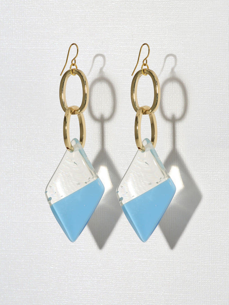 Gloria Earrings Blue
