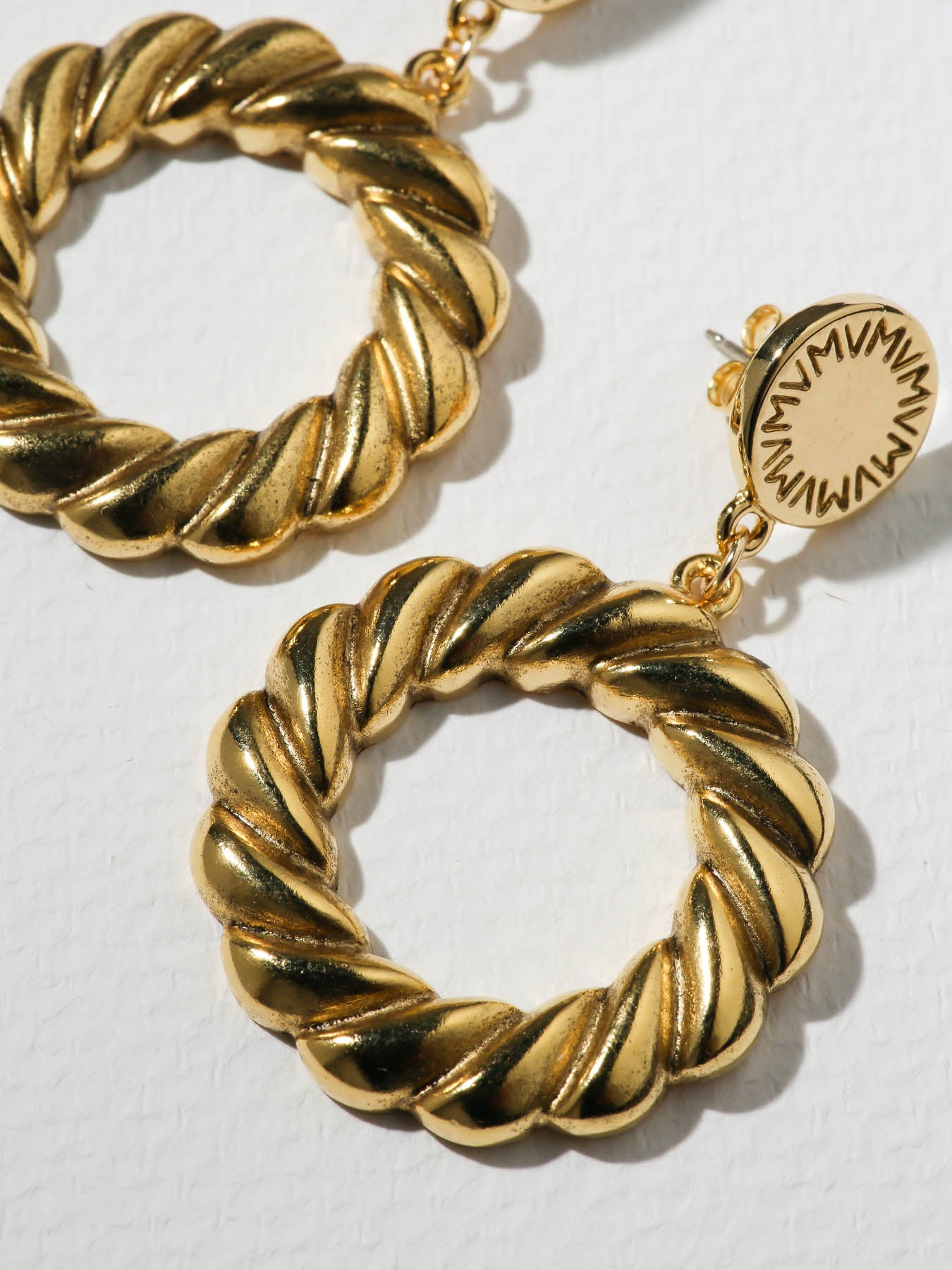 Earrings The Gold Empire Hoops Vanessa Mooney