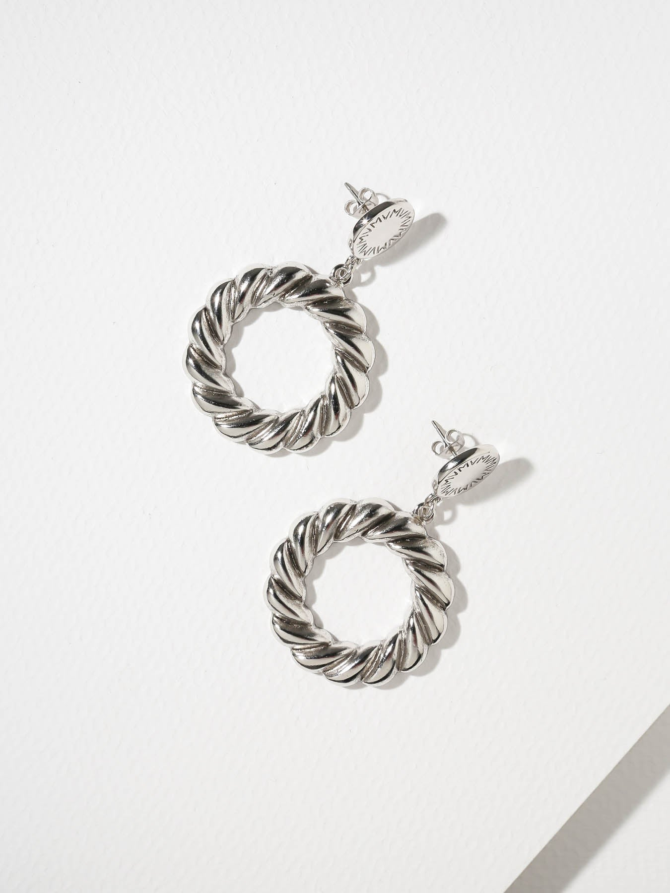 Earrings The Empire Hoops Silver Vanessa Mooney