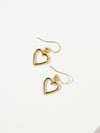 The Mini Cut-Out Heart Earrings