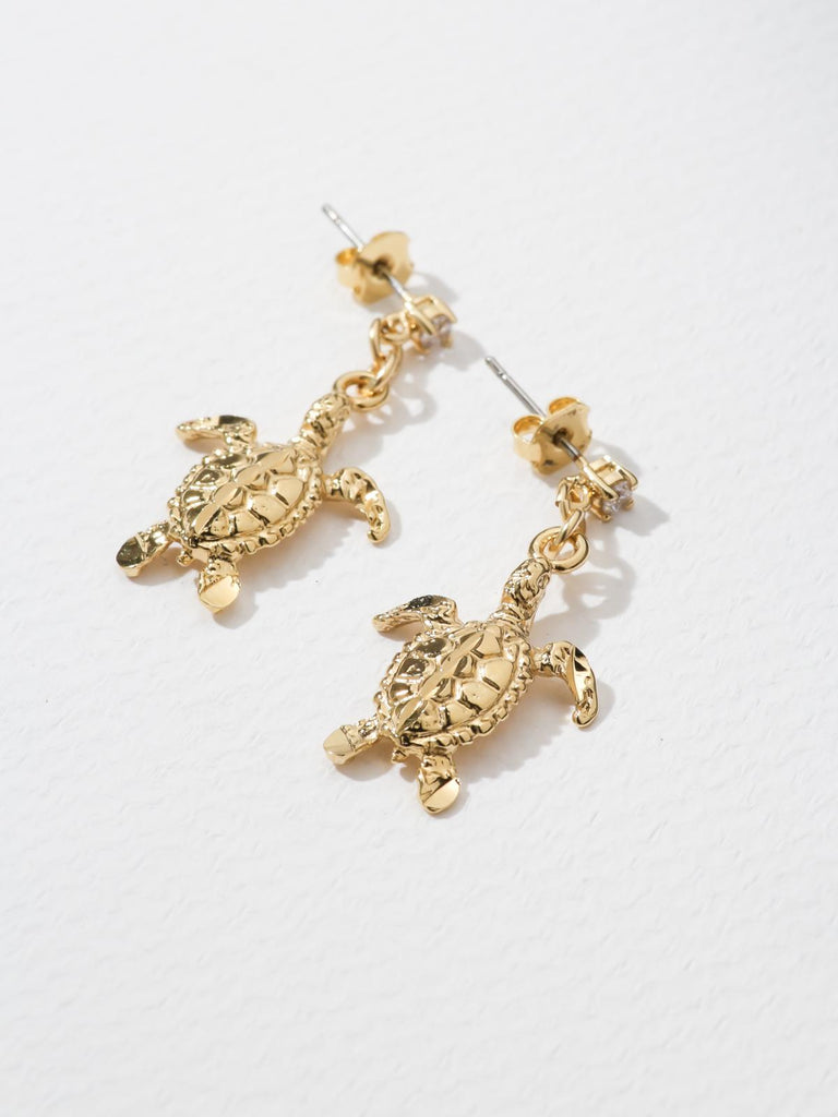 Earrings The Sea Turtle Earrings Vanessa Mooney