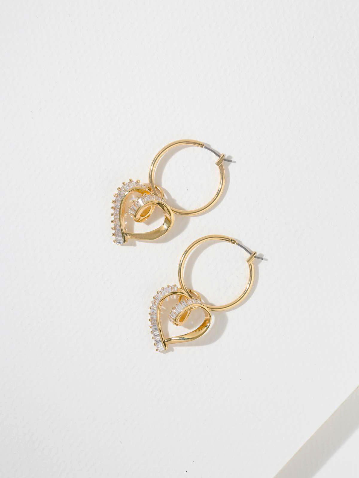 The Trance Heart Earrings