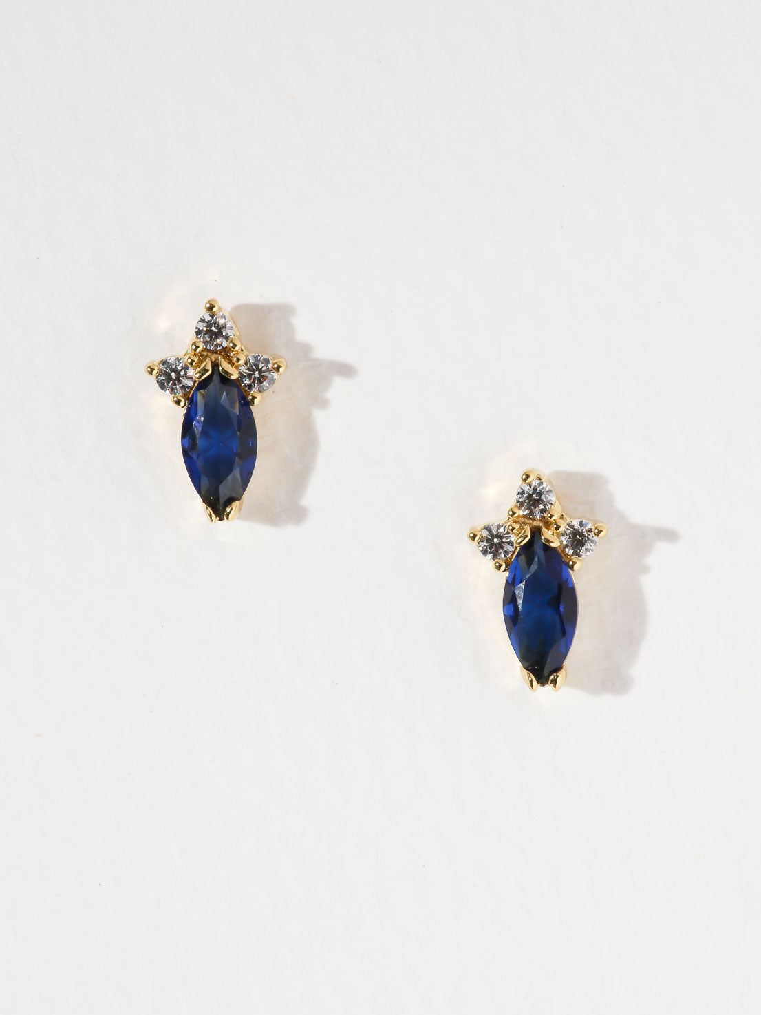 The Heavenly Birthstone Earrings Sapphire