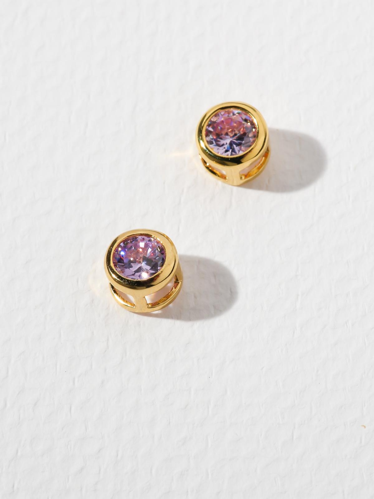 The Bardot Lavender Earrings