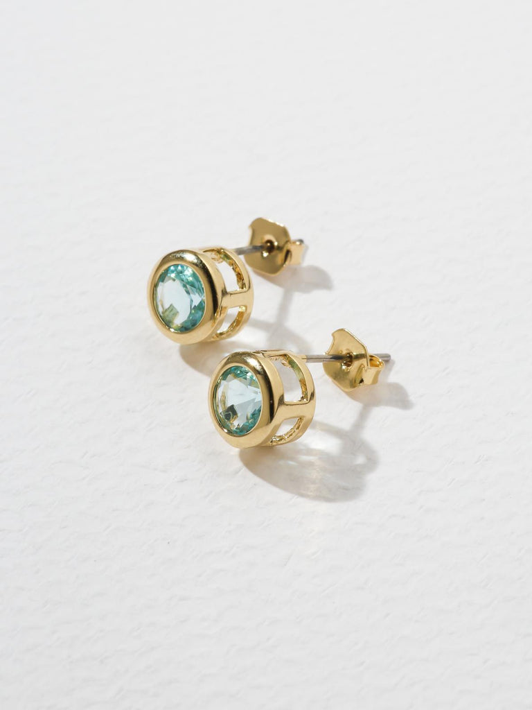 Earrings The Bardot Light Blue Earrings Vanessa Mooney