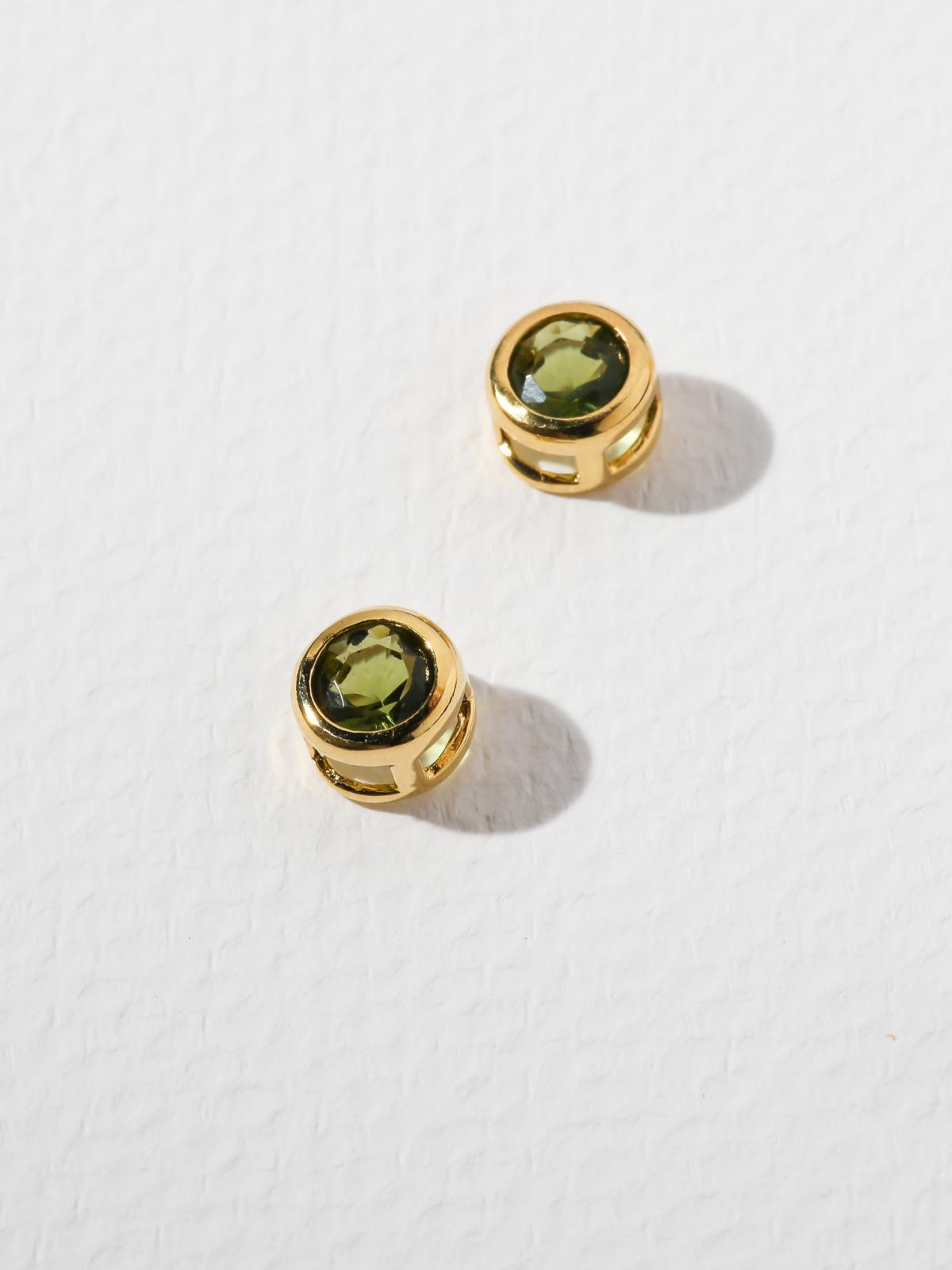 The Bardot Green Earrings
