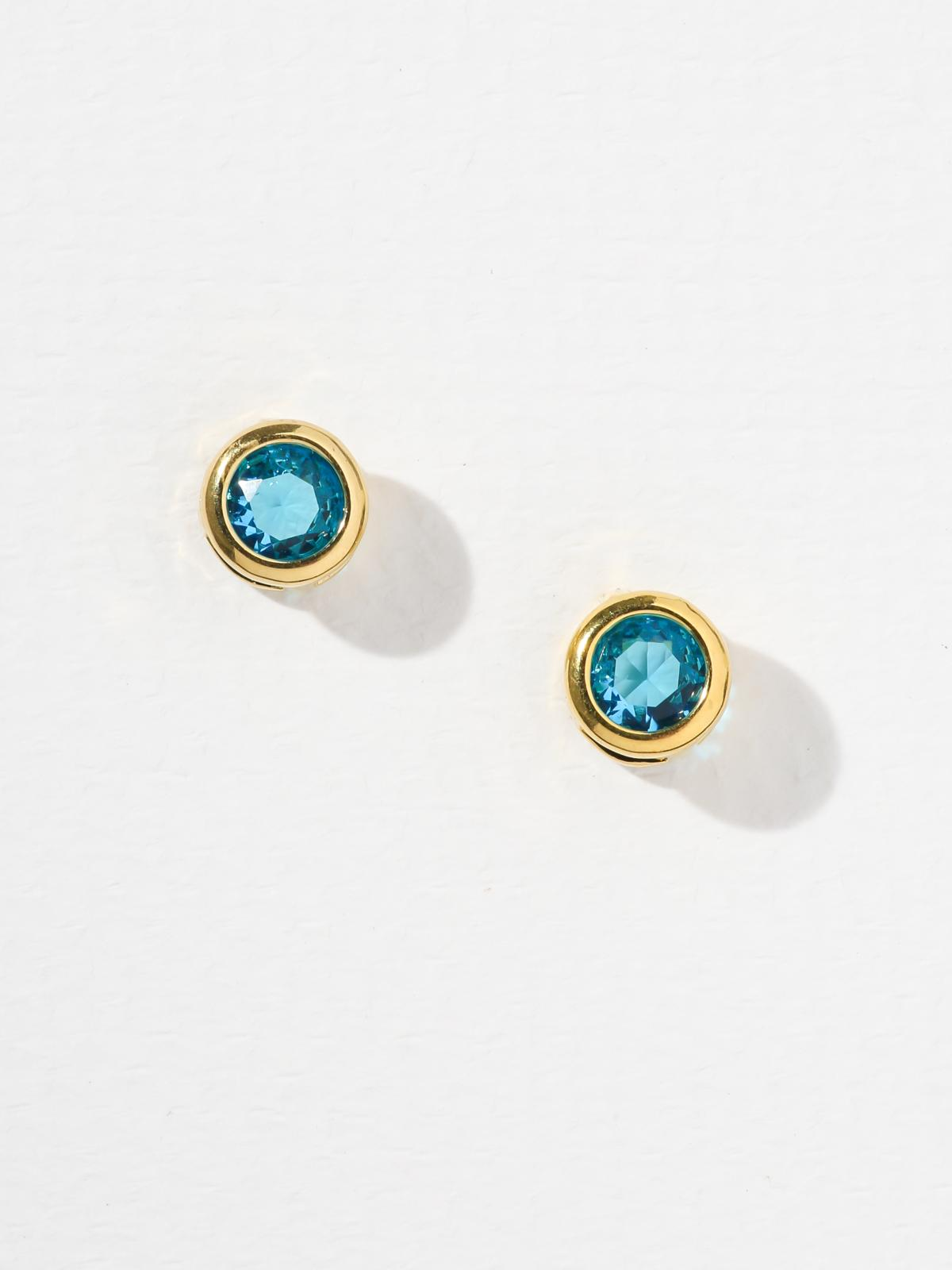 The Bardot Aqua Earrings