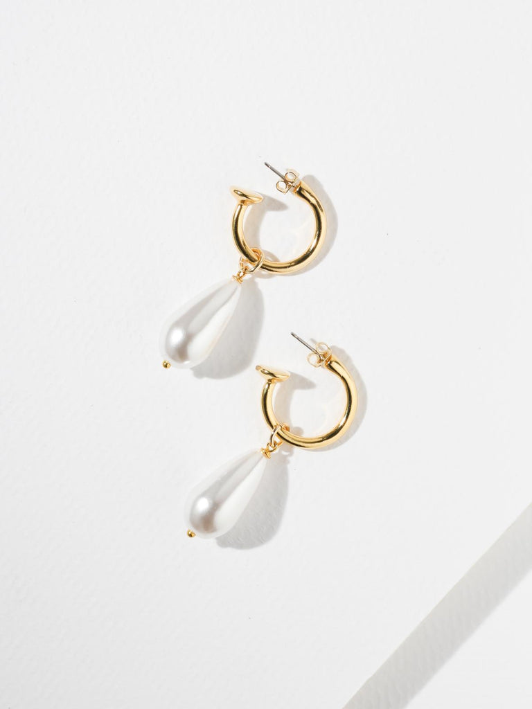 The Pearl Drop Earrings