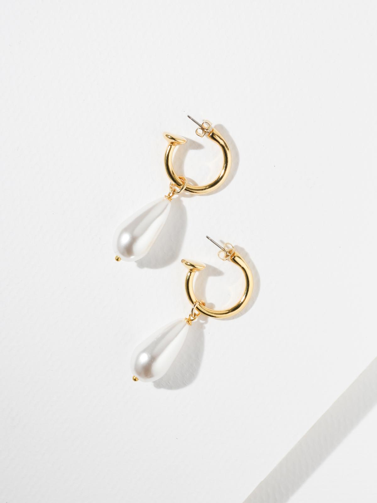 Earrings The Pearl Drop Earrings Vanessa Mooney