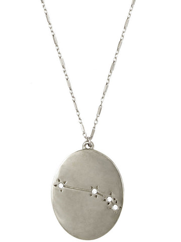 The Old Stars Silver Aries Necklace