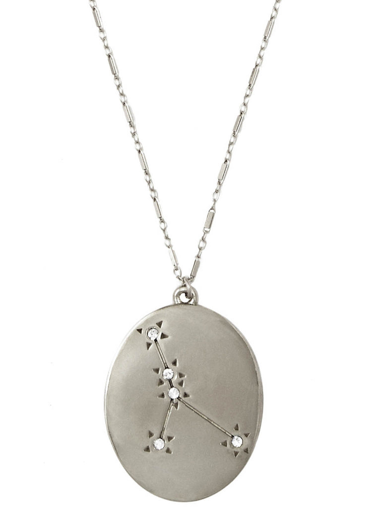 The Old Stars Silver Cancer Necklace