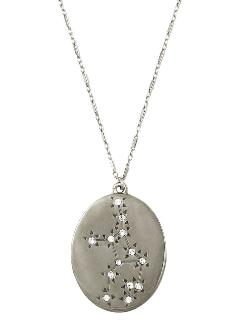 The Old Stars Silver Virgo Necklace