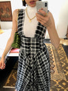 Clothing The Venus Dress - Plaid Vanessa Mooney