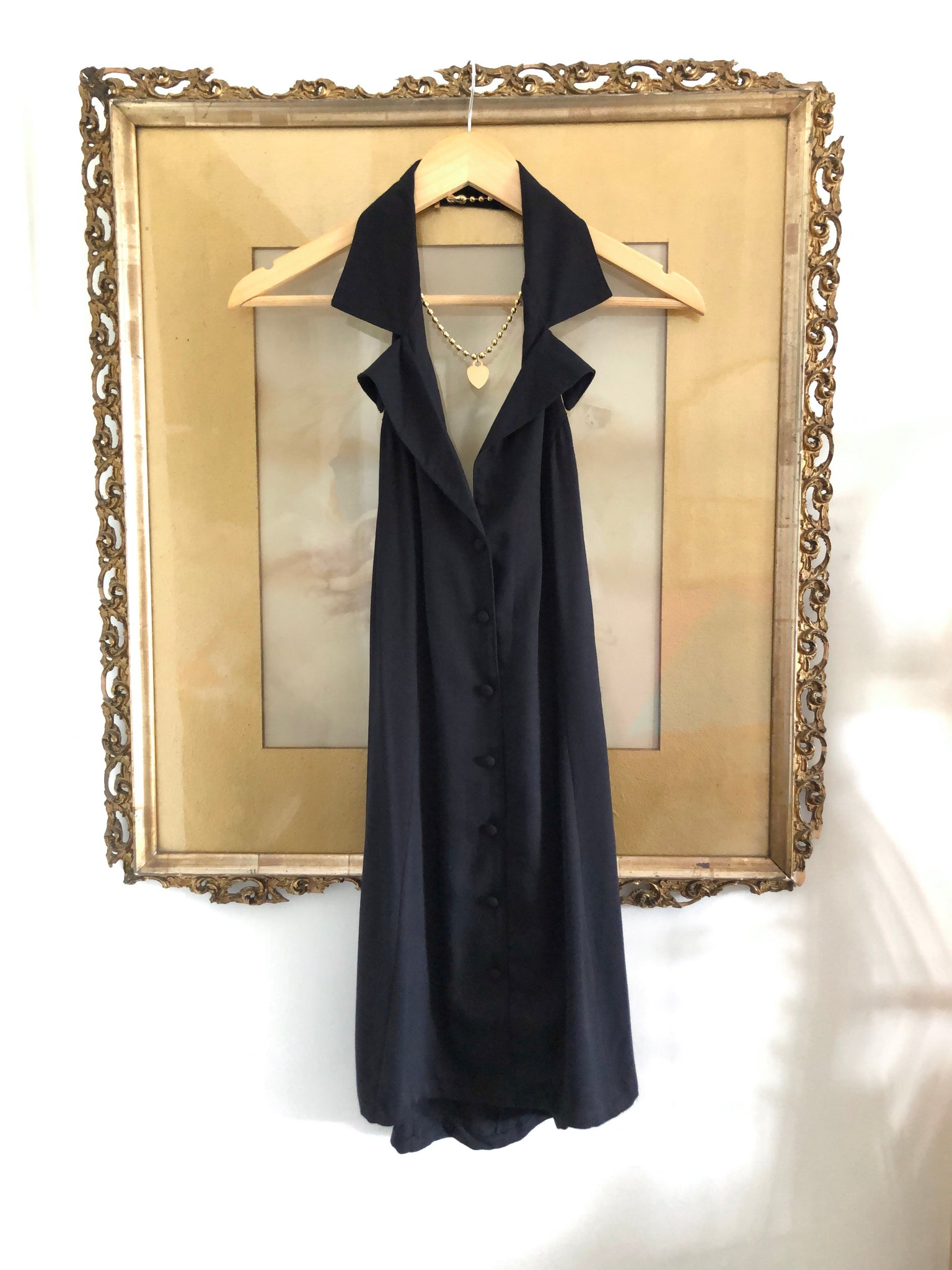 Samples The Valentina Dress: Black | SAMPLE Vanessa Mooney