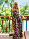 Samples The Paradise Dress: Hawaiian Floral - SAMPLE Vanessa Mooney