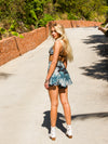 Sale Items The Daisy Shorts - Palm Leaf Vanessa Mooney