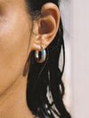 The D'Arcy Hoop Earrings - Silver