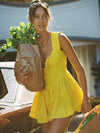 Clothing The Original Elisabeth Dress - Yellow Vanessa Mooney
