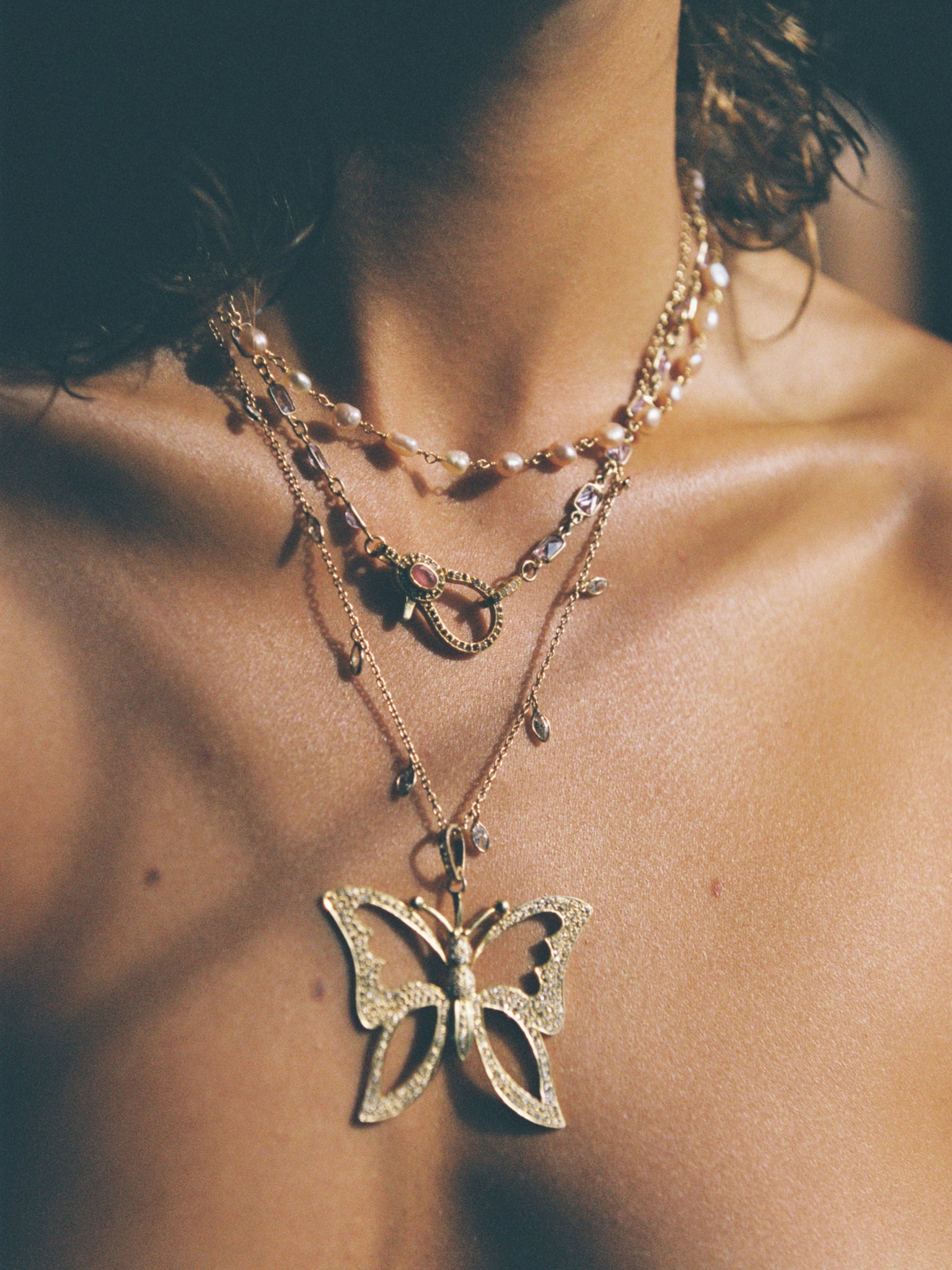 The Elektra Clasp Necklace