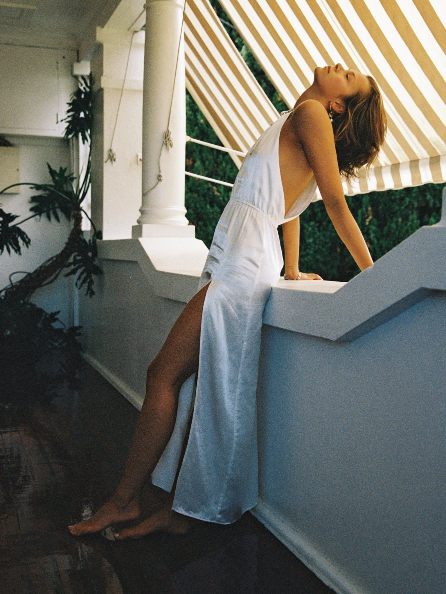 The Angelica Dress - White