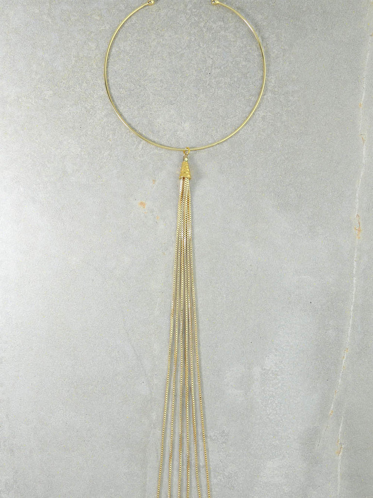 The Calista Gold Necklace