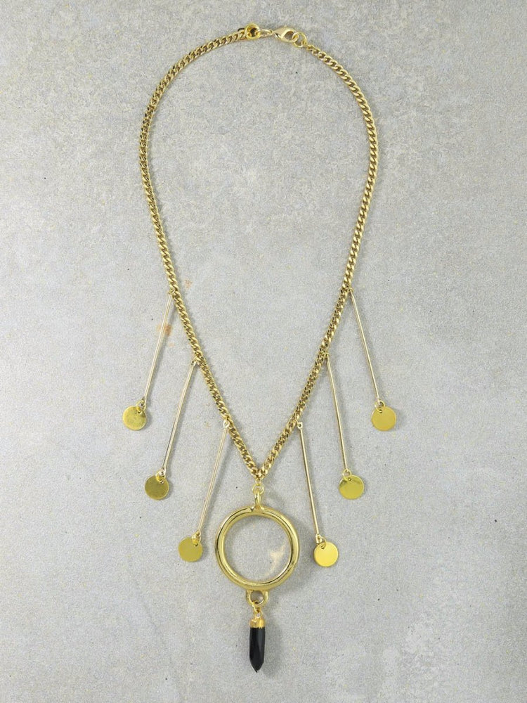 The Odyssey Gold Necklace