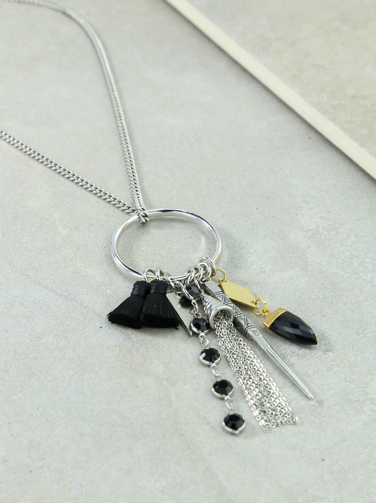 The Firework Silver Necklace