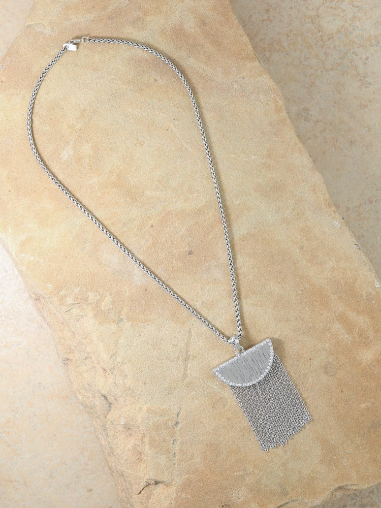 The Cielo Necklace Silver