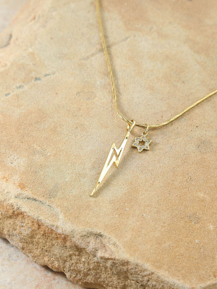The Destiny Lightning Bolt Necklace