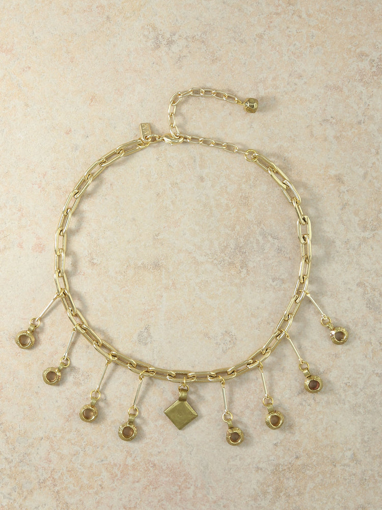 The Celeste Gold Chain Choker