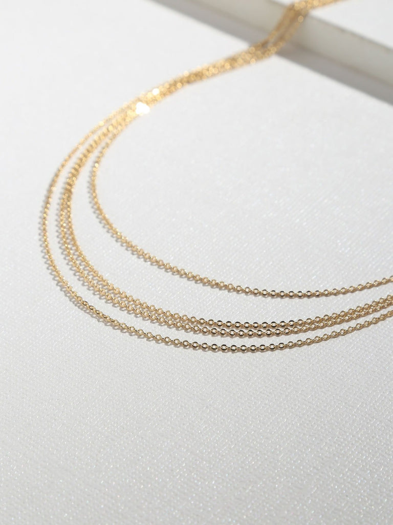 Necklaces The Carmela Gold Layered Necklace Vanessa Mooney
