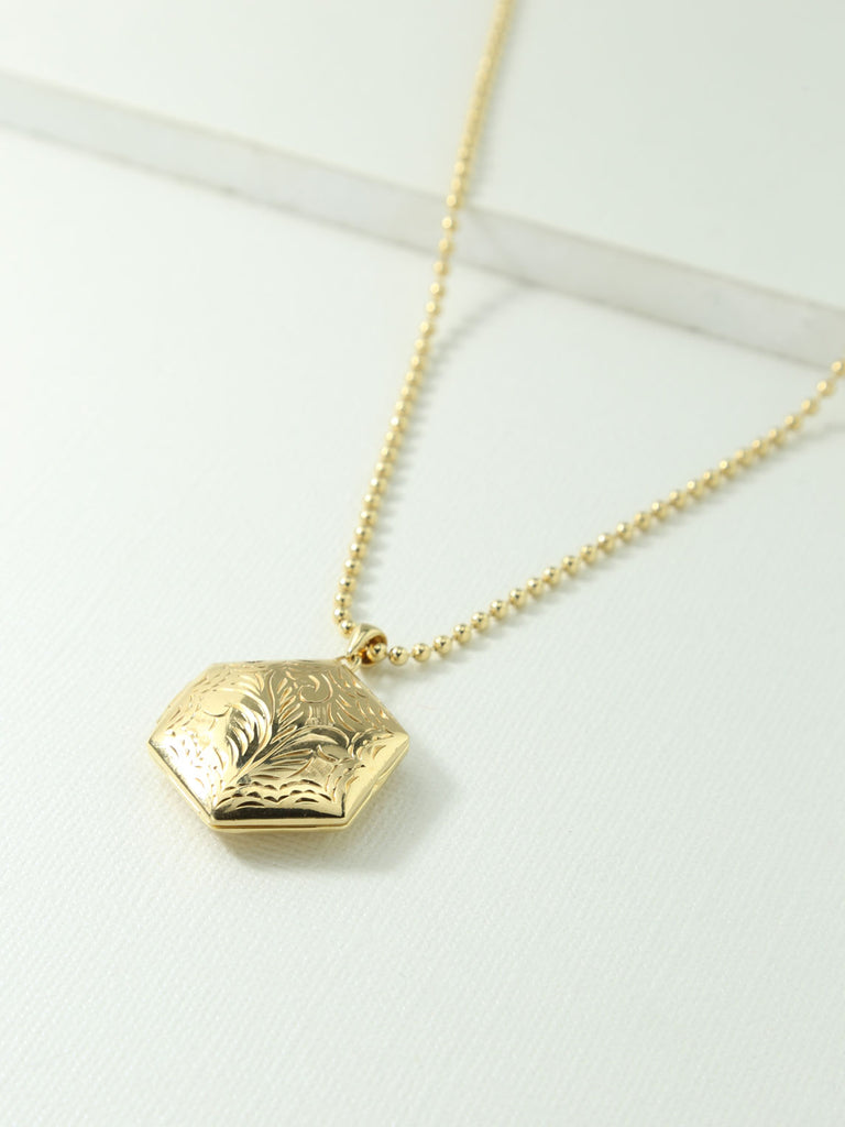 The Valentina Locket Necklace