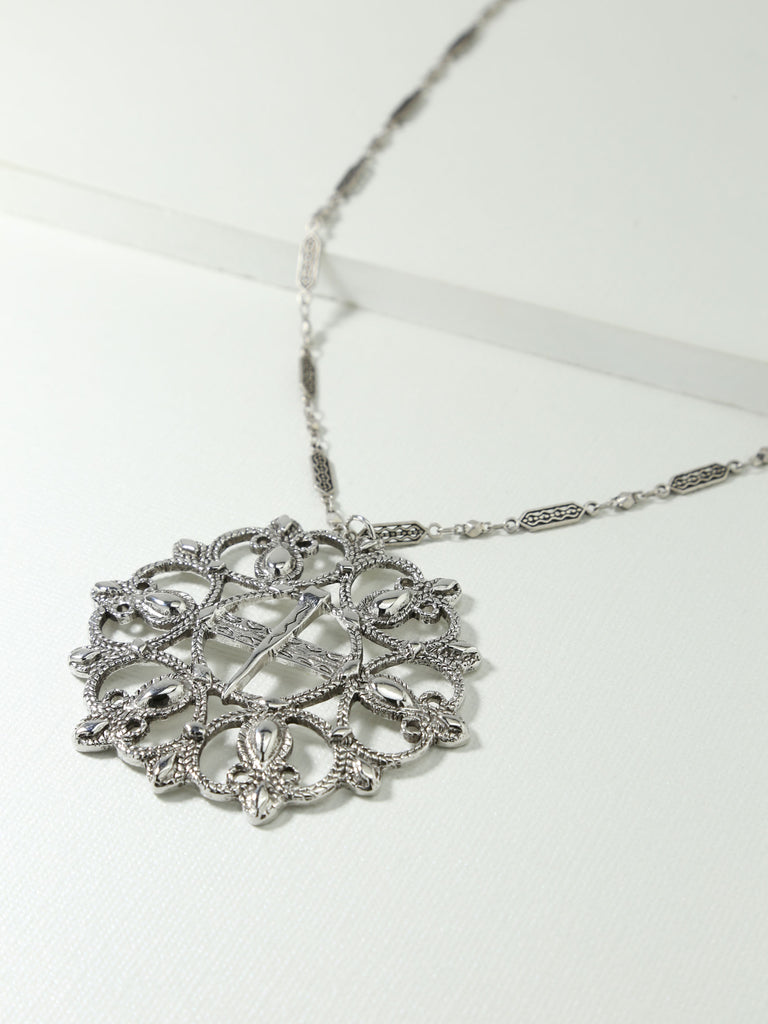 The Siena Necklace Silver