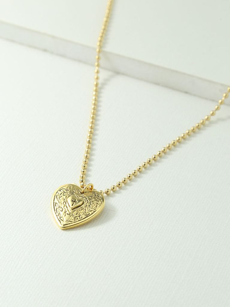 The Angelica Heart Necklace