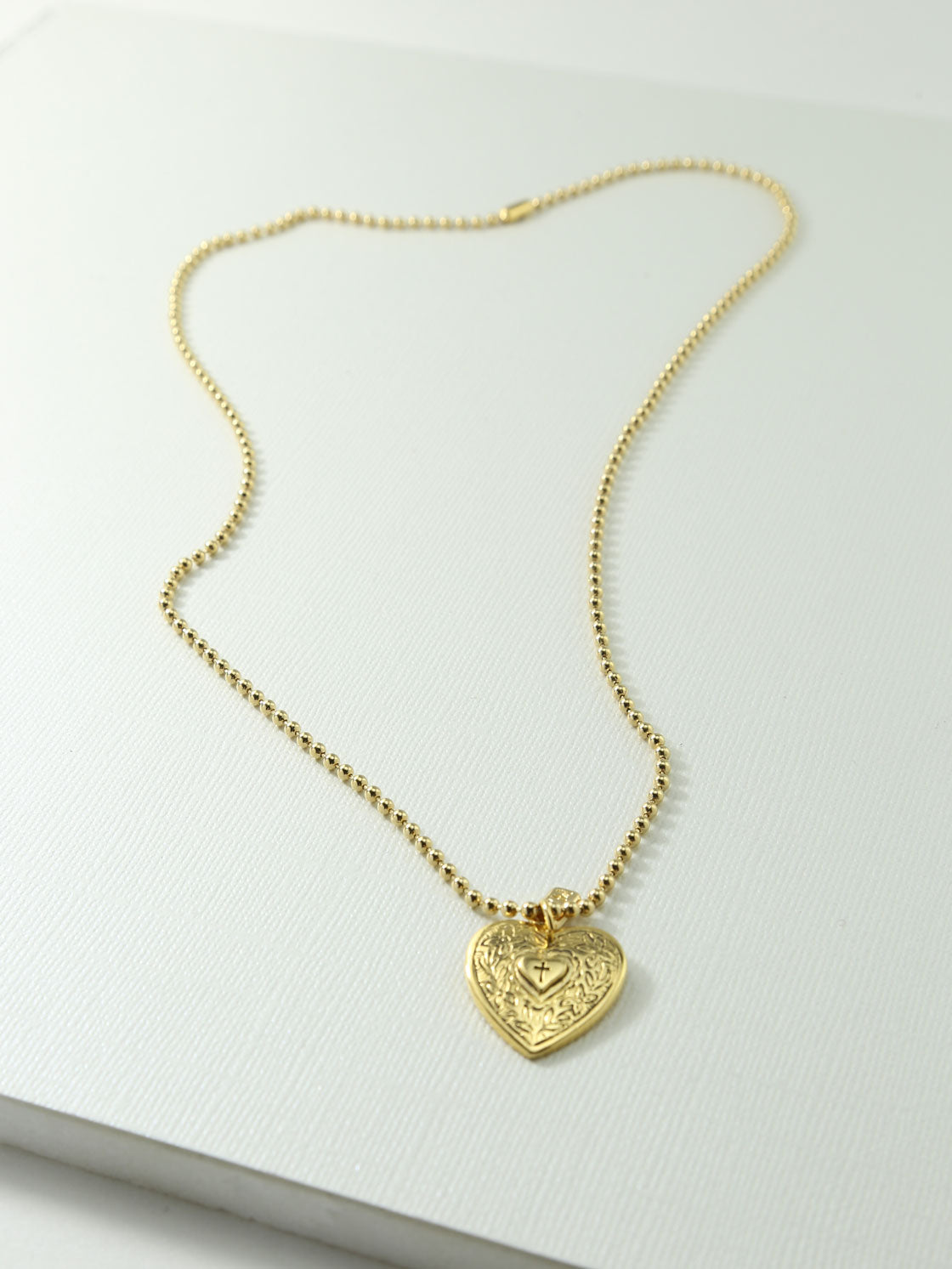 h cubic and gold webstore double necklace zirconia silver heart number samuel d product pendant