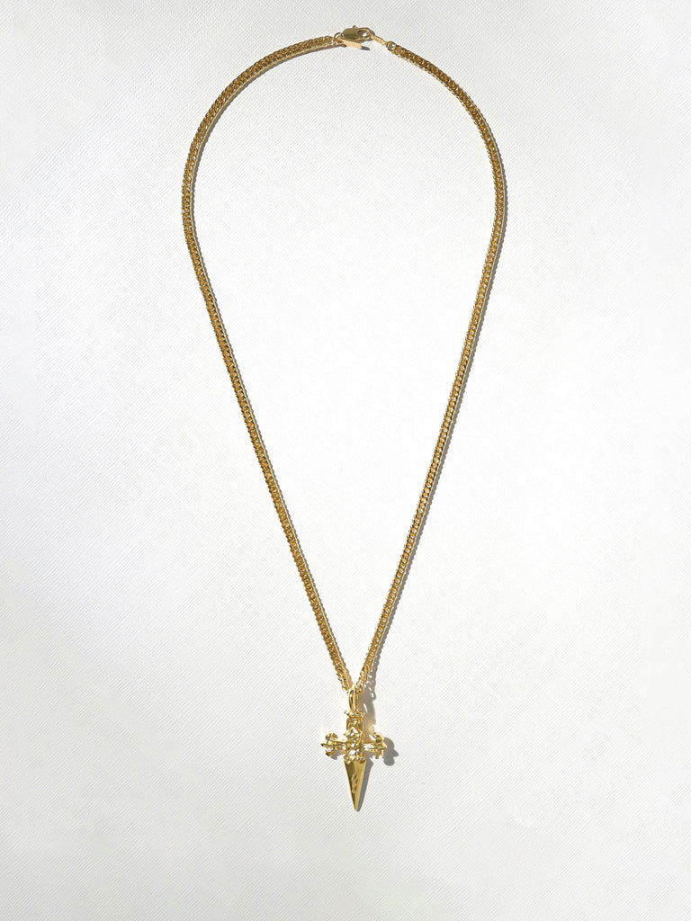 The Gold Lennox Dagger Necklace